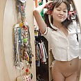 Cute Chinese nude Cosplay girl - image
