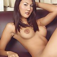 Extreme puffy and pointy nipples on thai babe Bua - image