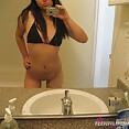 Adorable filipina gf sent in these nude mirror pics - image