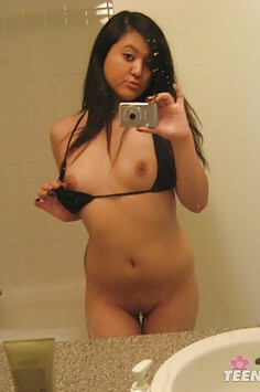 Adorable filipina gf sent in these nude mirror pics