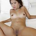 Raw and brown sassy asian amateur model - image