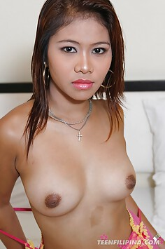 Raw and brown sassy asian amateur model
