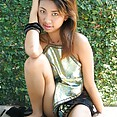 Cute naked Thai girl friend Fai - image