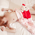 Asian cosplay girl friend naked - image
