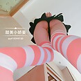 Skinny and cute Chinese girl does Tiktok cosplay - image