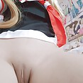 Cosplay and stockings Japanese girls - image